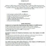 99 Top Forklift Operator Resume for Pics