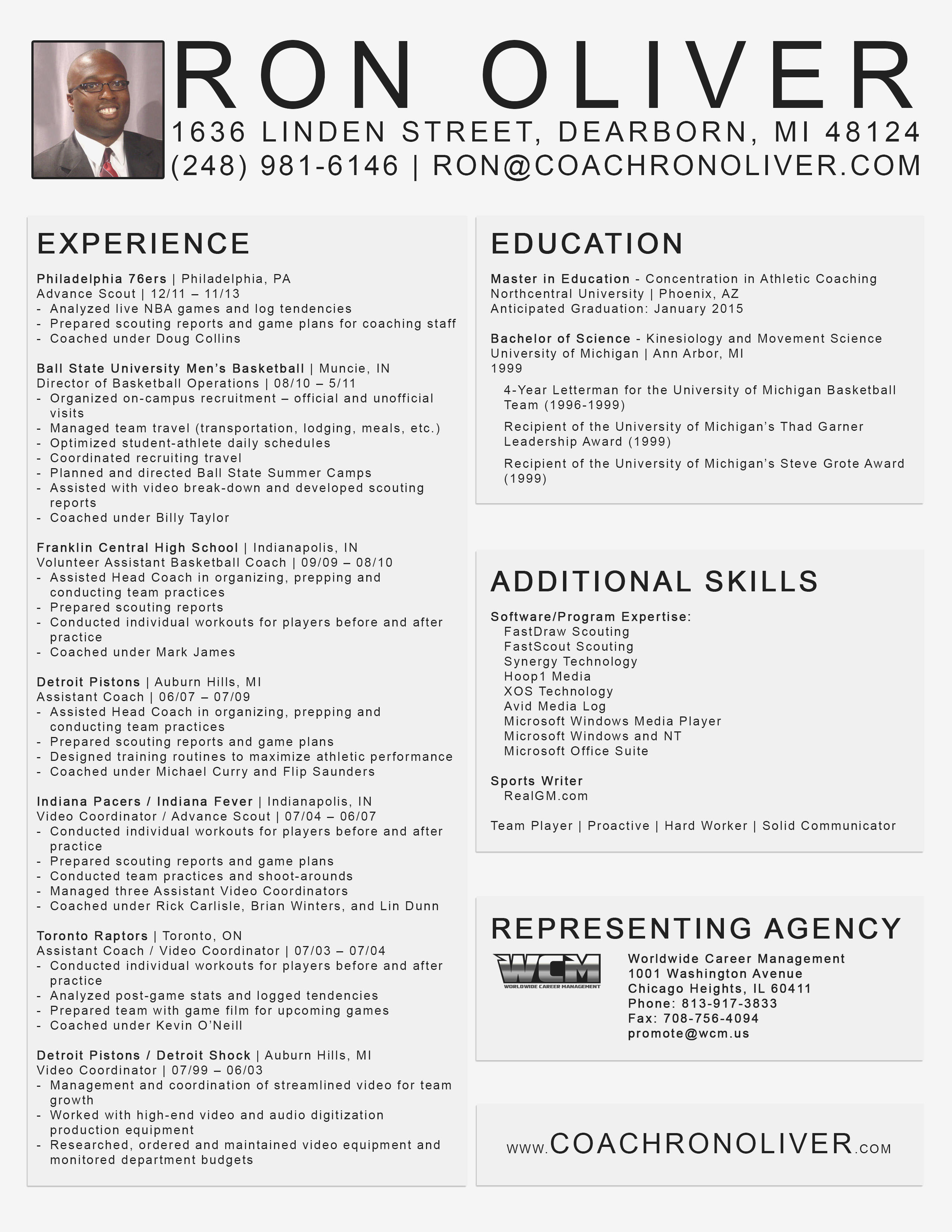 11 Beautiful Basketball Coaching Resume Cover Letter for Graphics