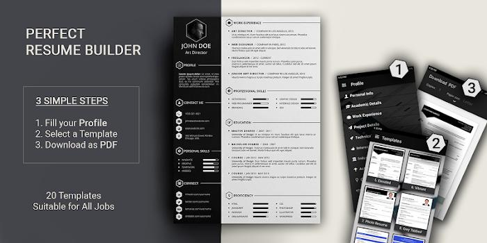 11 Best Free Cv Resume Builder for Gallery