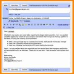 11 Excellent Email Format For Job Application With Resume for Gallery