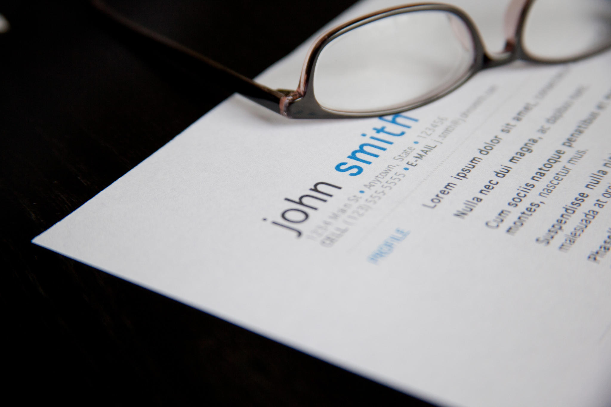 11 Fresh How To Make Resume Fit On One Page for Gallery