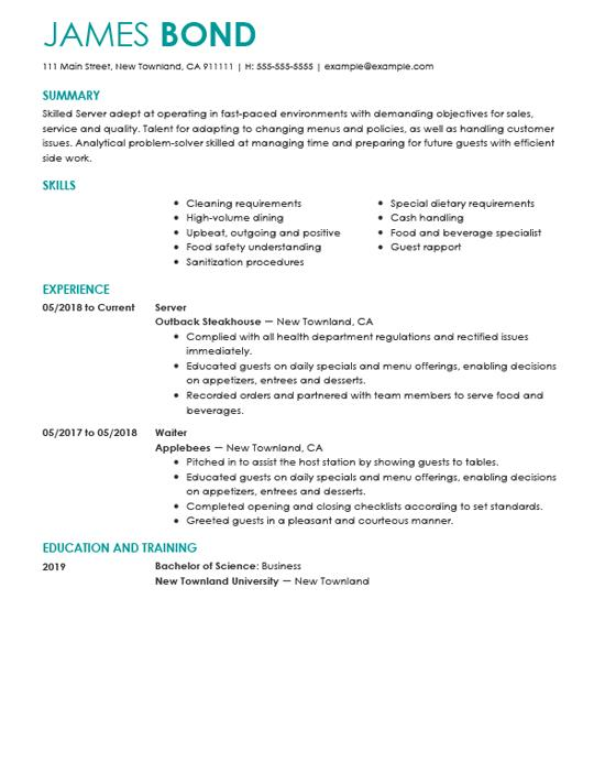 11 Stunning Best Sales Resume Examples 2018 with Pictures