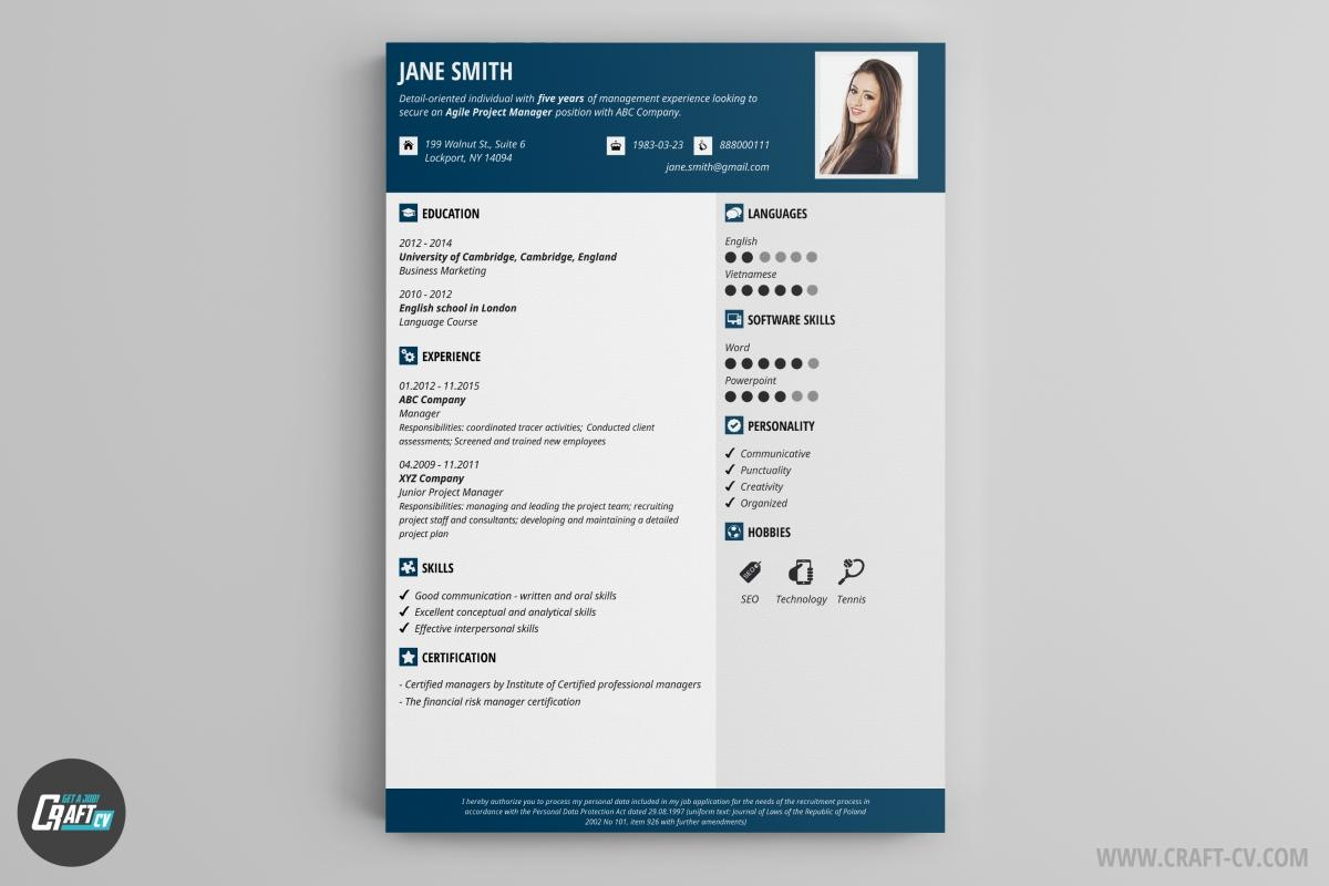 11 Stunning Free Cv Resume Builder by Ideas