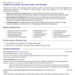 12 Best Experienced Teacher Resume Examples for Gallery