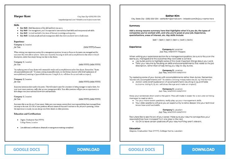 12 Fresh Free Microsoft Office Resume Templates for Design