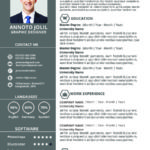 12 Stunning New Resume Format for Pics