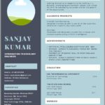 13 Inspirational One Page Resume Format For Freshers by Images