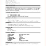 13 Stunning Format Of Resume For Job Pdf by Ideas