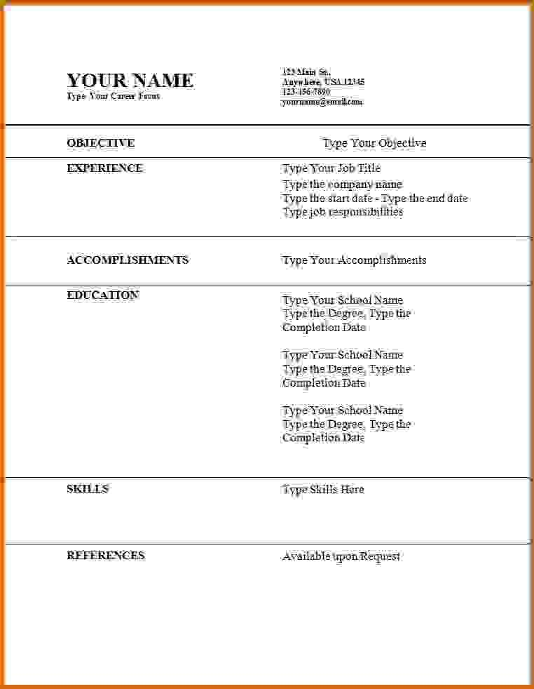 13 Top How To Make A Resume For A Job Free for Pics