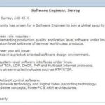 14 Awesome Software Engineer Cv with Graphics