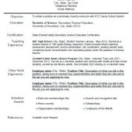 14 Best Experienced Teacher Resume Examples for Images