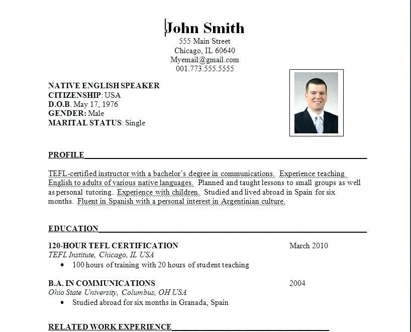 14 Cool Us Resume Format by Pictures