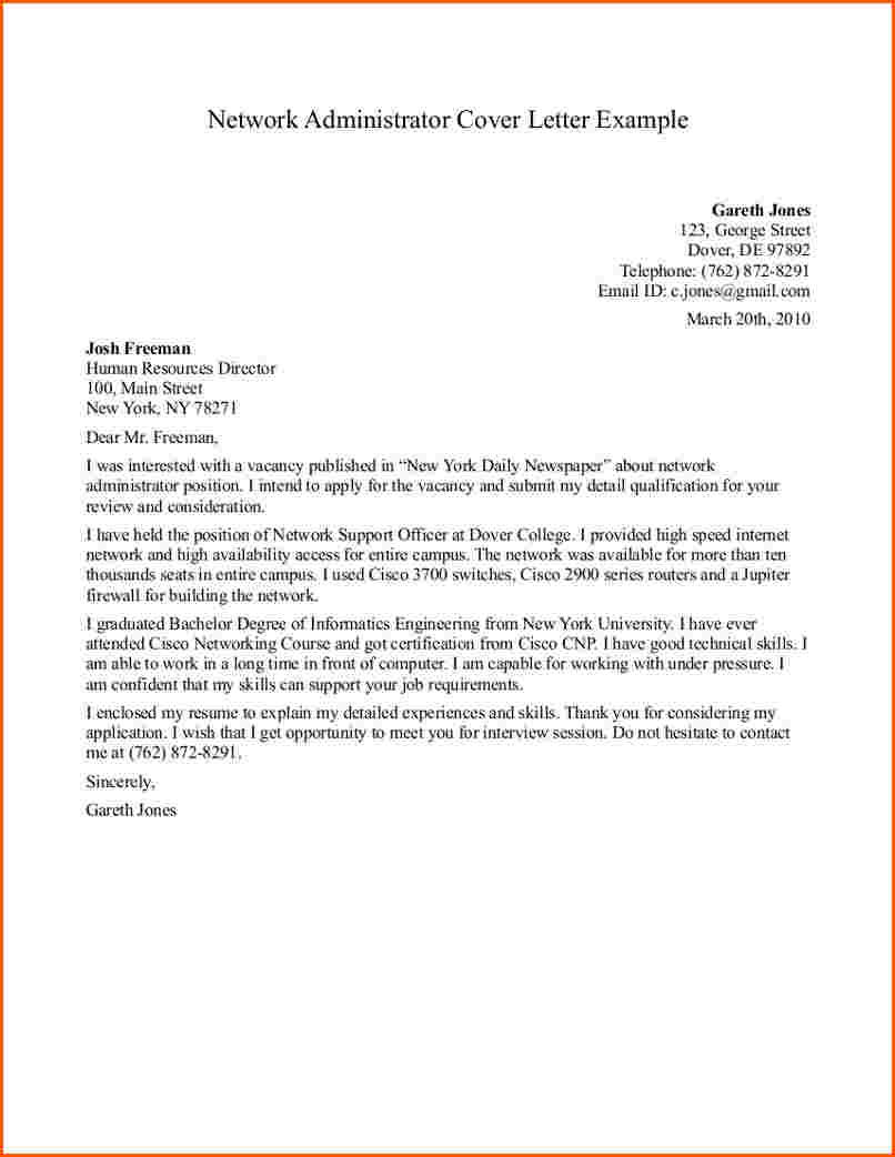 14 Great Administration Cover Letter Sample by Graphics