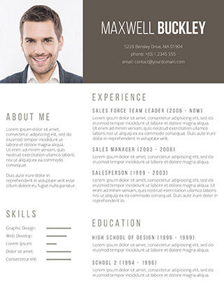14 Stunning Resume Layout Word by Design