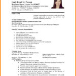 15 Best Resume For Job Application by Graphics
