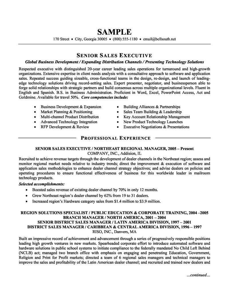 15 New Best Sales Resume Examples 2018 by Images