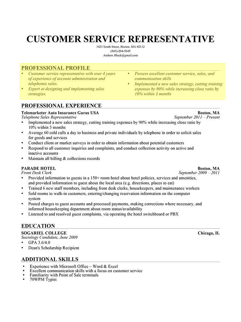 15 Top How Does A Professional Resume Look Like with Images