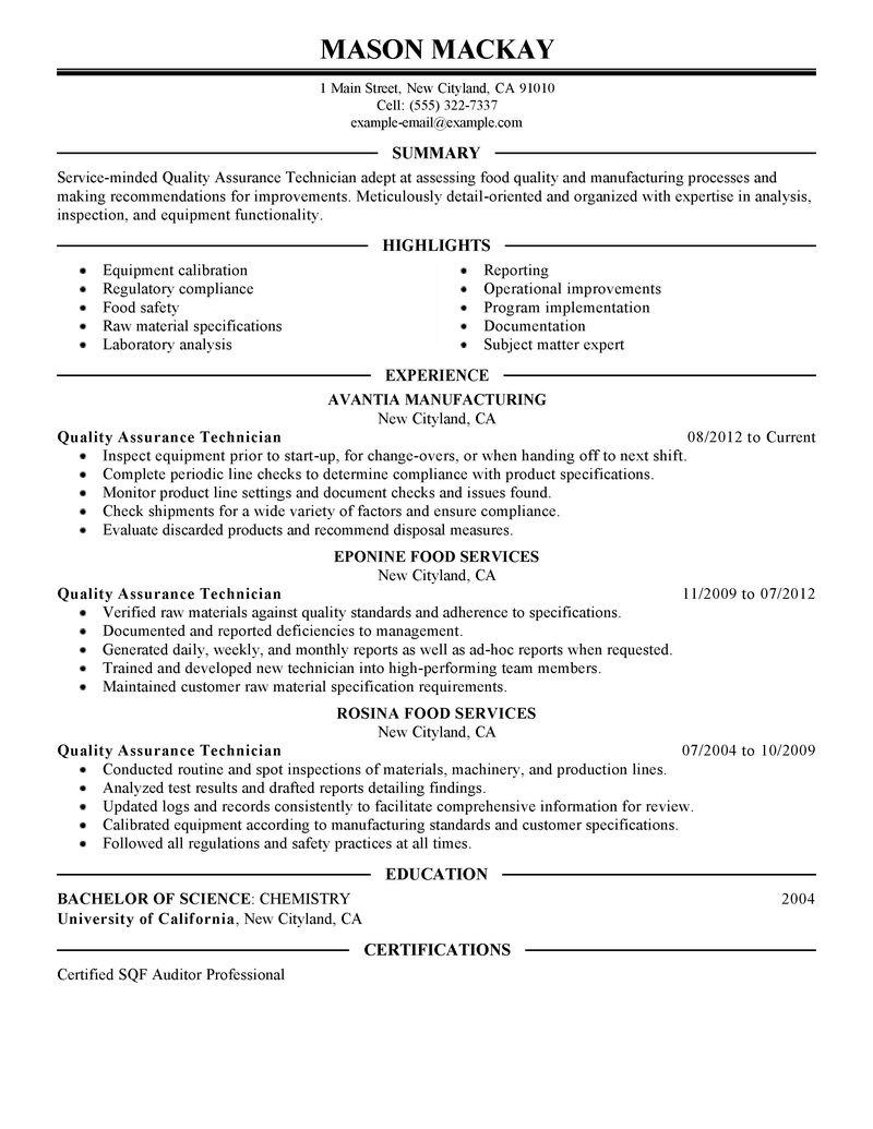 15 Top Software Quality Assurance Engineer Resume with Graphics