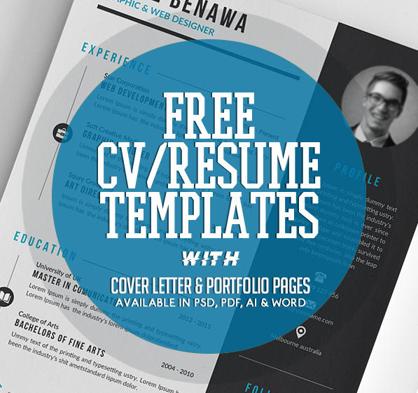 16 Great Free Pages Resume Templates with Images