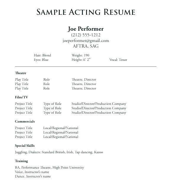 16 Inspirational Beginner Resume Template for Ideas