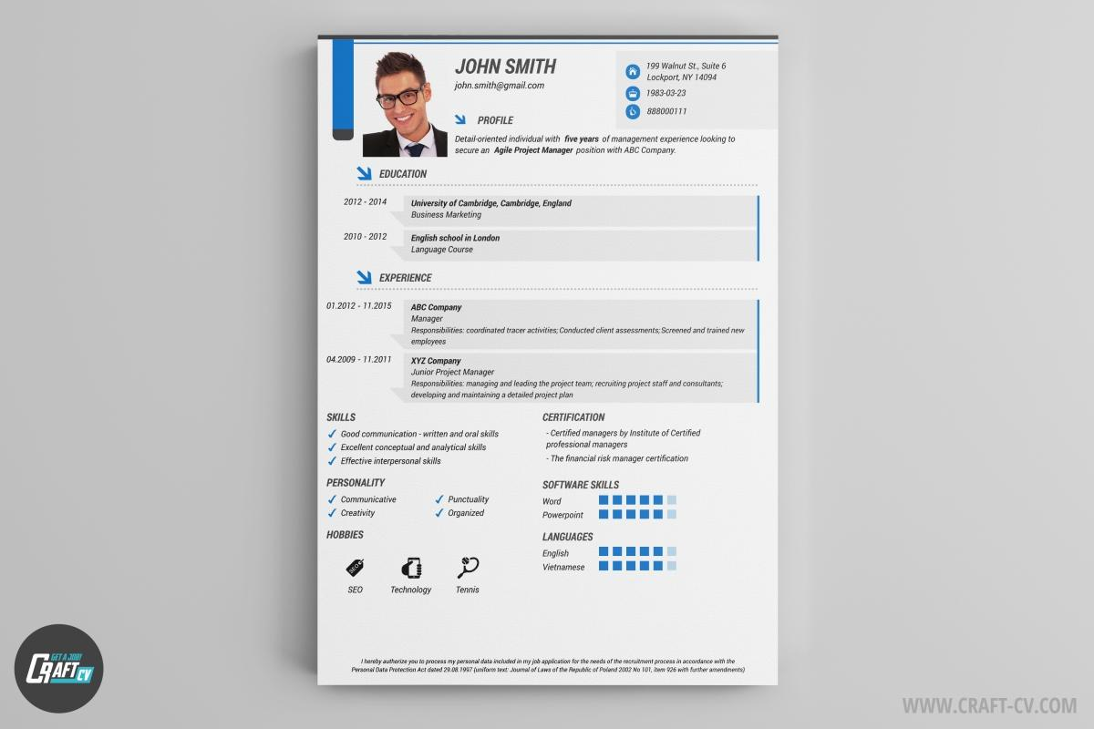 16 New Free Cv Resume Builder with Pics