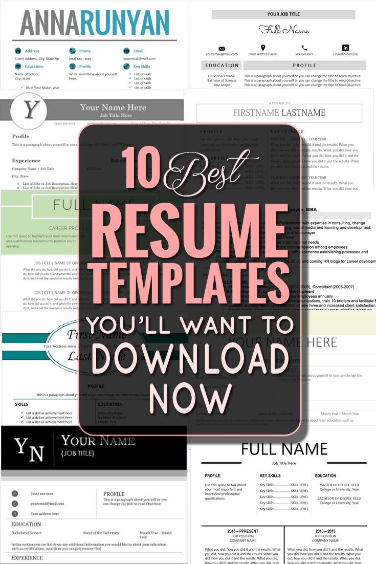 17 Awesome How To Get Resumes For Free with Gallery