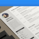 17 Awesome Indesign Resume Template for Design