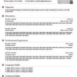 17 Cool Free Resume Builder Template by Images