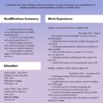 17 Cool Good Resume Examples 2019 with Graphics