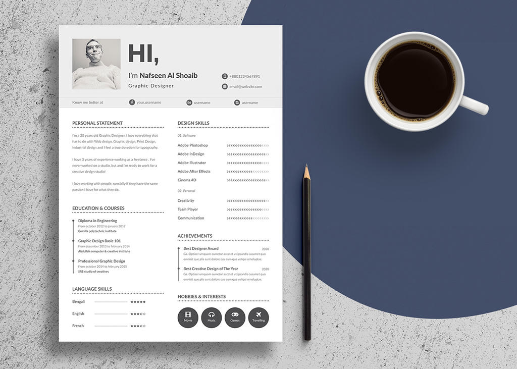 17 Fresh Best Cv Design by Pics