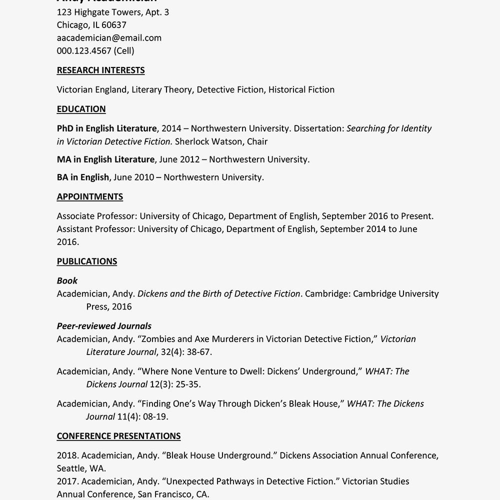 17 Inspirational Curriculum Vitae Template with Images