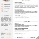 17 Nice English Cv Template for Design