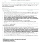 18 Awesome Civil Engineer Resume with Pictures