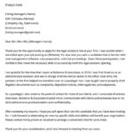 18 Best Legal Cover Letter by Pics