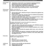 18 Best Resume Template Pdf by Pics