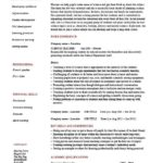 18 Cool Experienced Teacher Resume Examples by Graphics