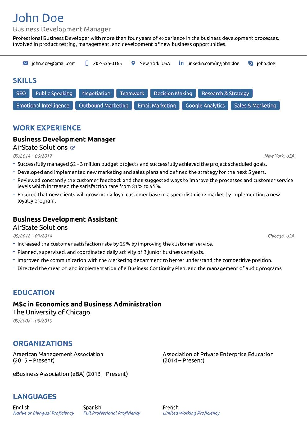 18 Great The Perfect Resume Template by Graphics
