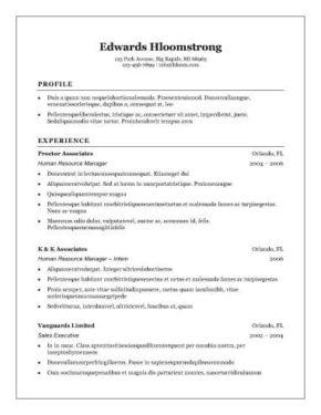 18 Top Sample Resume Format for Gallery