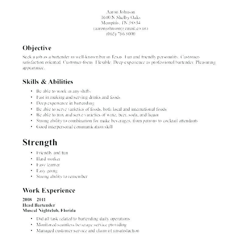20 Cool Format Of Resume For Job Pdf for Pictures