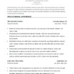 20 Excellent Early Childhood Education Resume Examples for Gallery