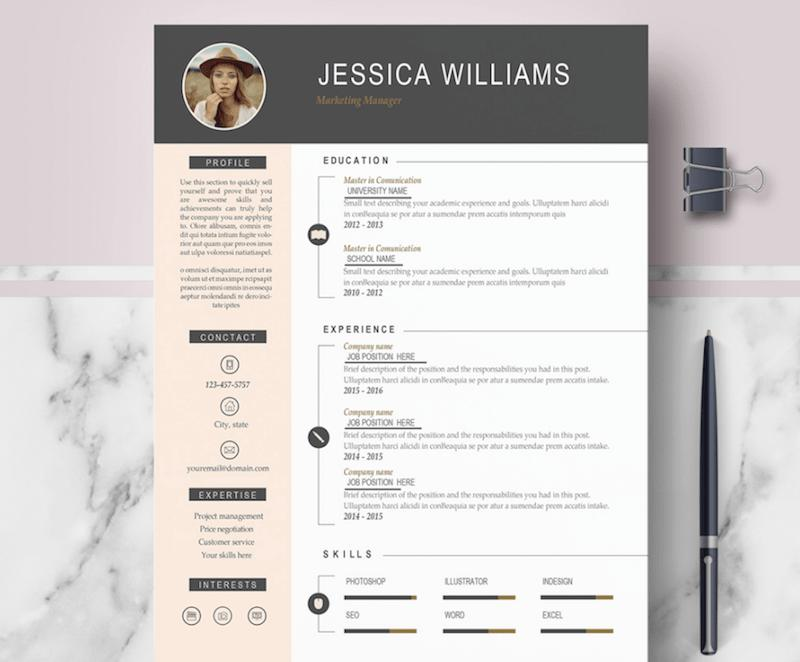 20 Fresh Modern Curriculum Vitae by Pictures