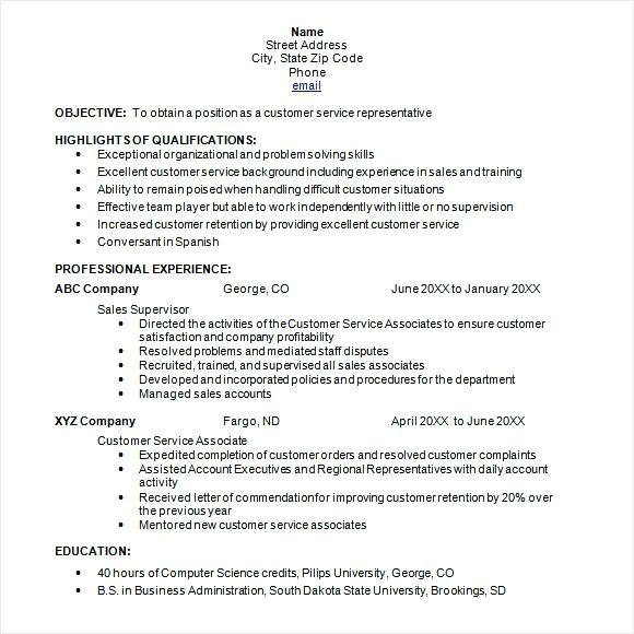 20 Great Chronological Resume Sample Pdf by Pictures