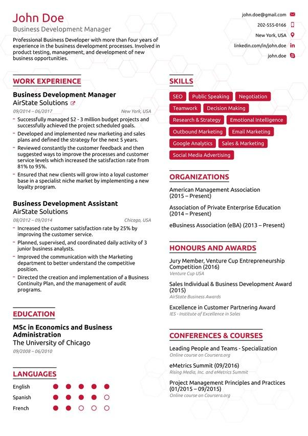 20 Nice How Should My Cv Look for Gallery