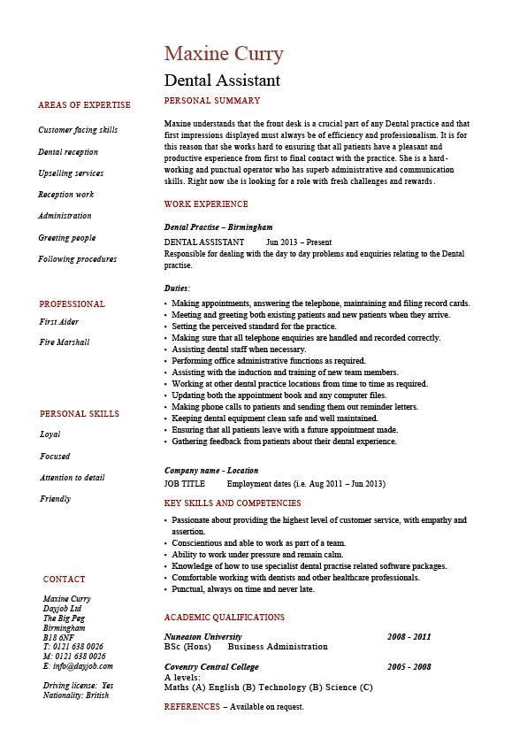 20 Top Dental Assistant Resume Skills Examples with Design