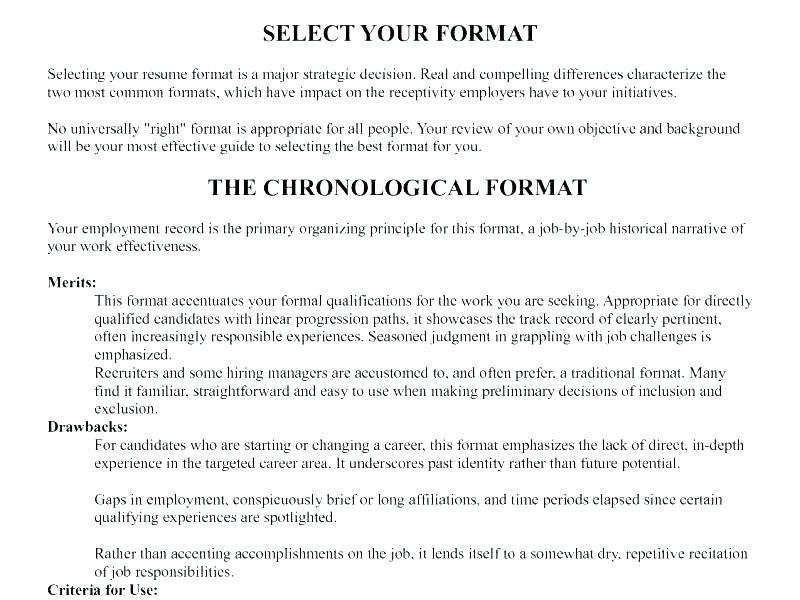 21 Awesome Proper Resume Layout with Images