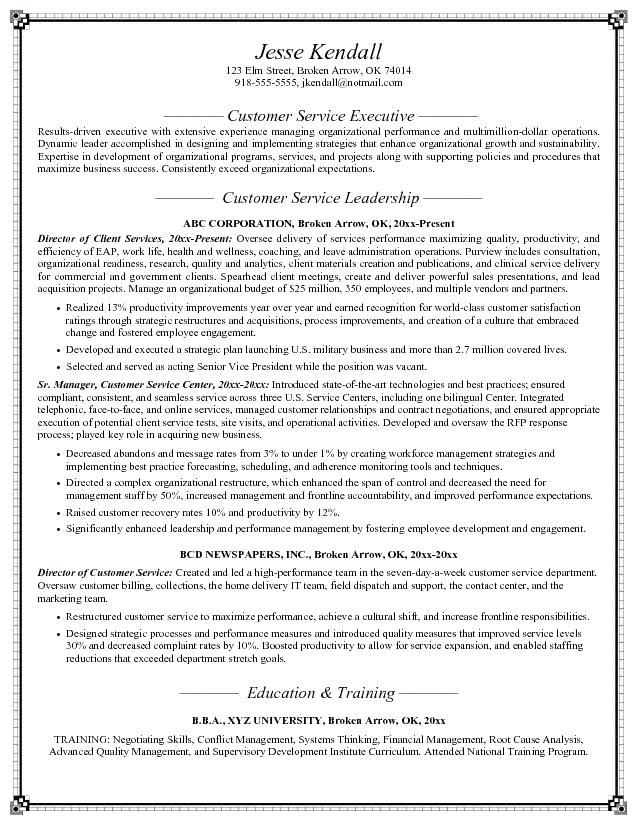21 Beautiful Customer Service Resume Objective Or Summary Examples for Graphics