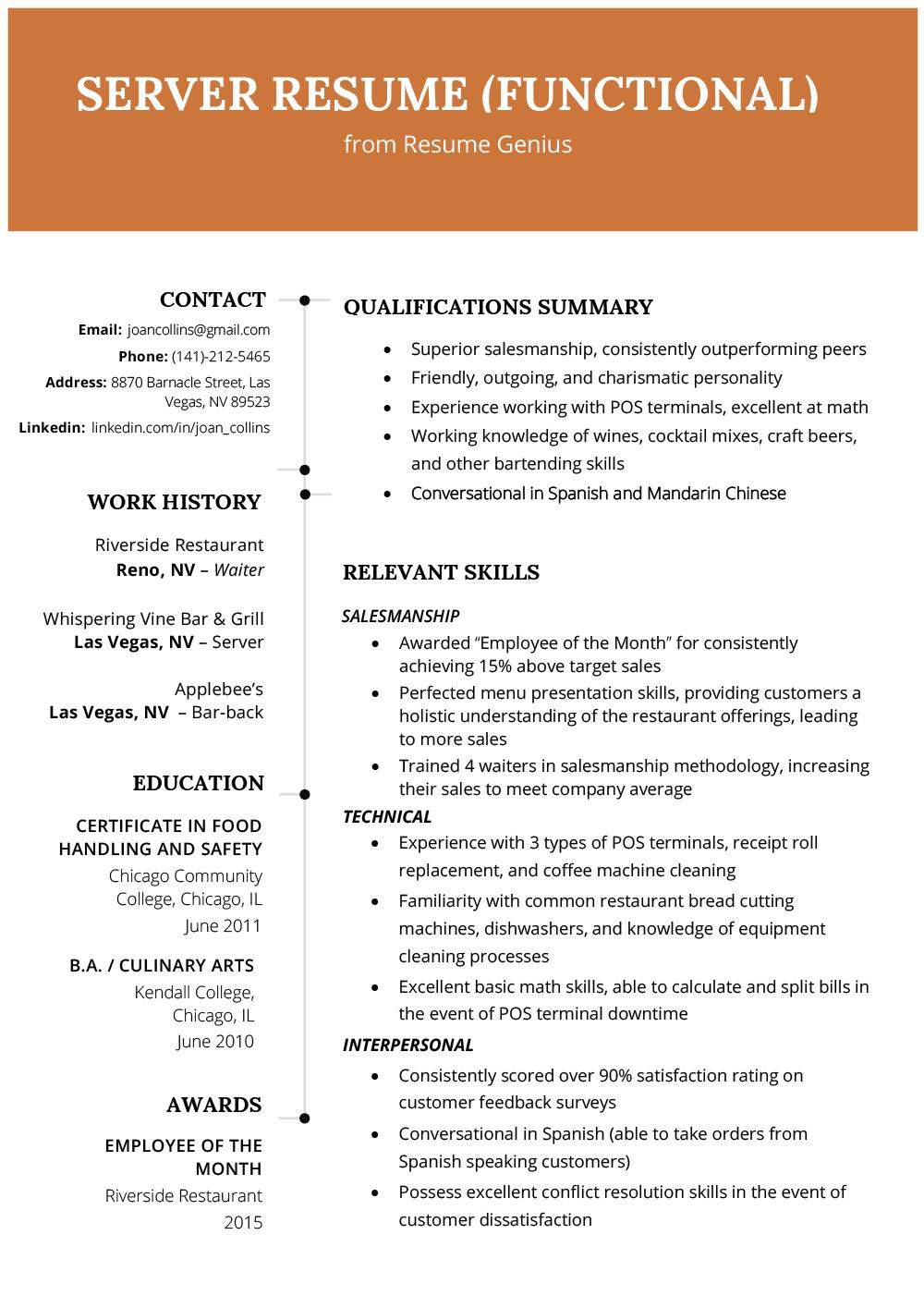 21 Beautiful Resume Format Examples for Gallery