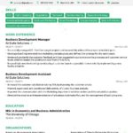 23 Cool Best Executive Resume Templates 2018 by Images