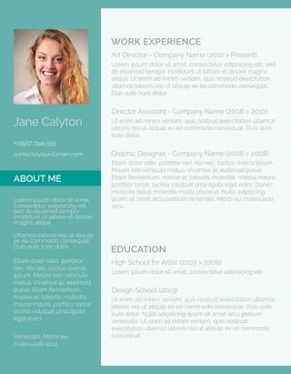 23 Fresh Cv Template Gratis with Gallery