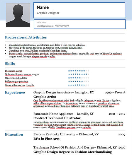 23 Inspirational Resume Format For Freshers by Ideas